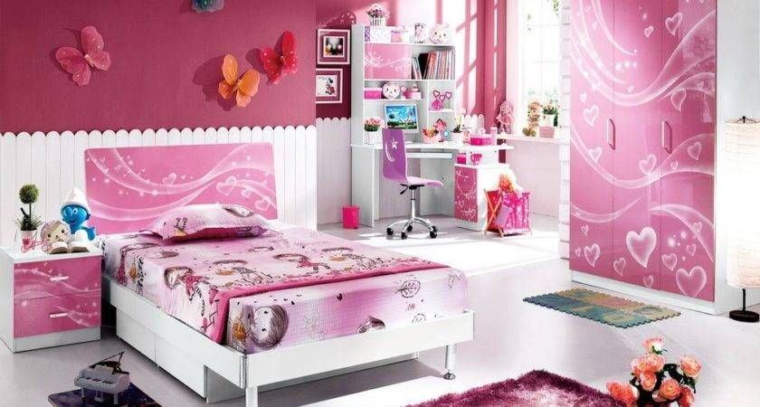 Pink Kids Bedroom Furniture Girls Homefurniture