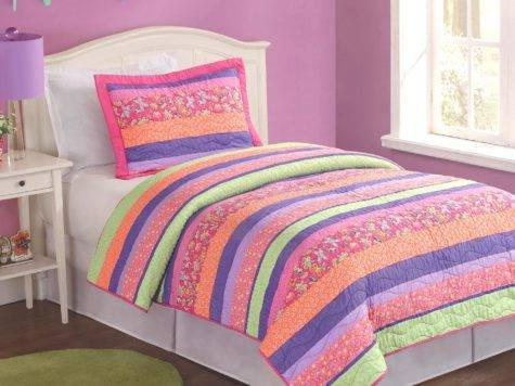 Pink Orange Bedding Bedroom
