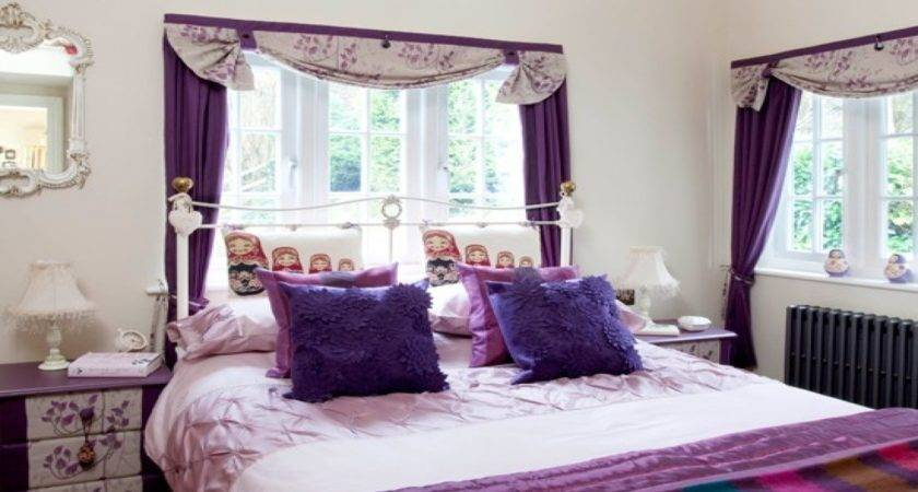 Pink Purple Bedroom Room
