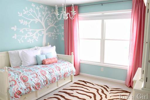 Pink Teal Living Room Want Like