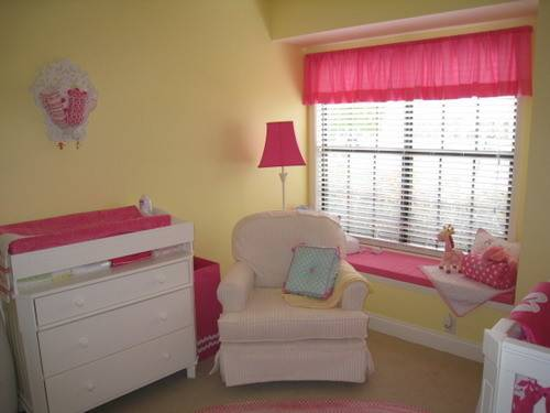 Pink Yellow Nursery Ideas Car Interior Design