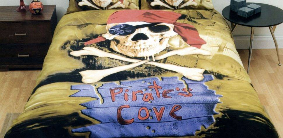 Pirate Cove Quilt Cover Set Just Home