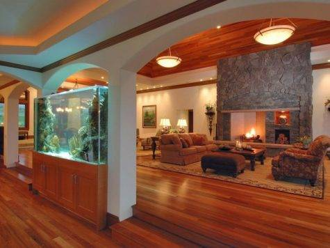 Place Fish Tank House