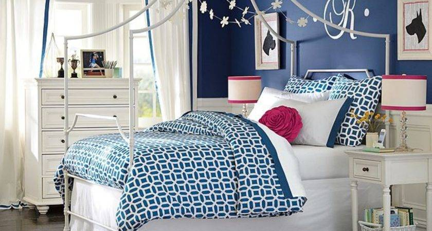 Planning Bedroom Navy Blue Pink Girls