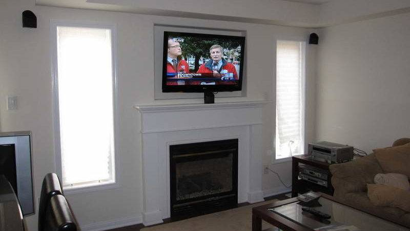 Planning Ideas Mounting Over Fireplace White