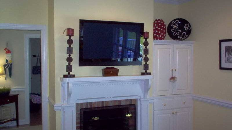 Planning Ideas Mounting Over Fireplace