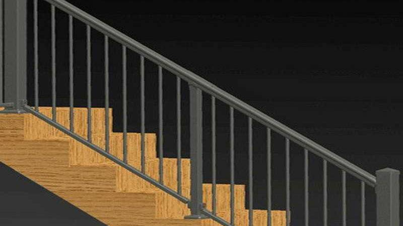 Planning Ideas Stair Railing Kits Interior