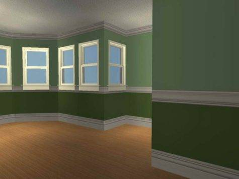Planning Ideas Two Tone Paint Room