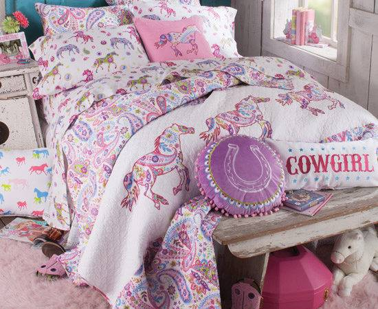 Pony Paisley Bedding Collection Kids