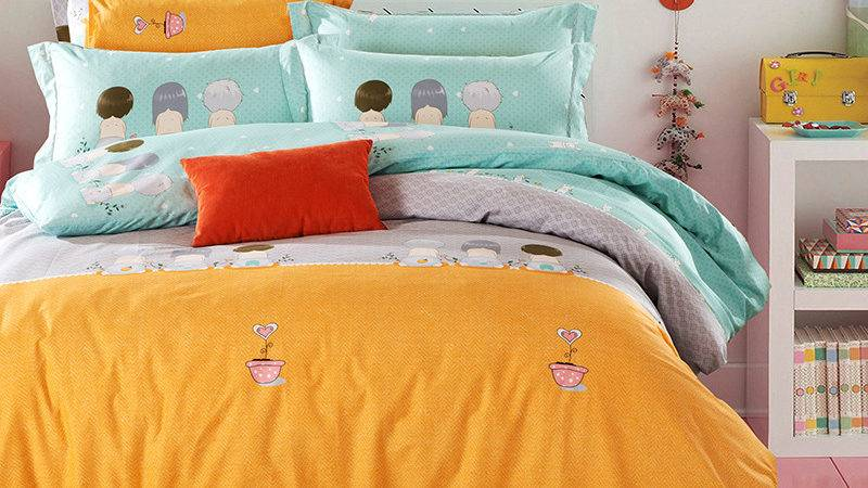 Popular Turquoise Orange Bedding Buy Cheap