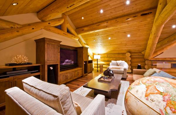 Posts Tagged Log Cabin Double Garages Attractive Kitchen