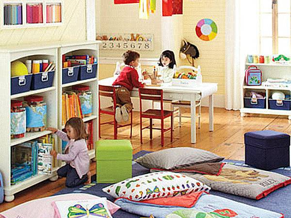 Pottery Barn Kids Playroom Layout Decoist