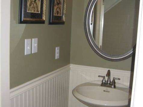 Powder Room Paint Ideas Home Design Decor Reviews