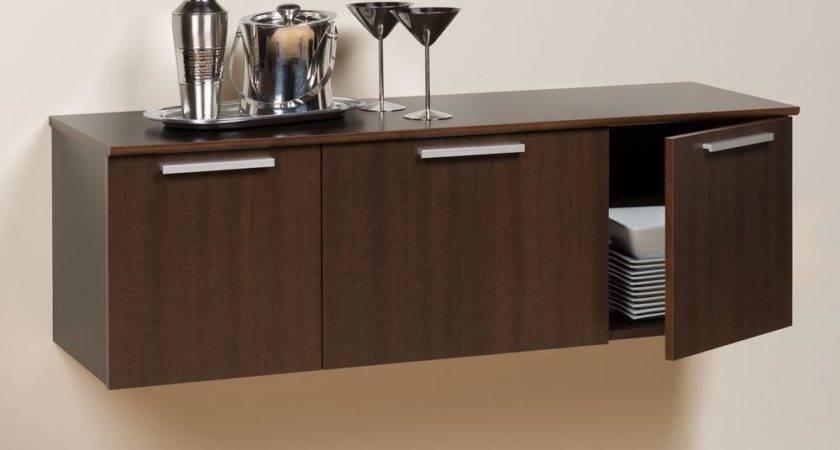 Prepac Coal Harbor Espresso Buffet Storage Ecbw