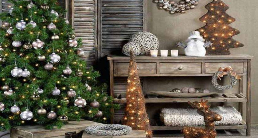 Primitive Dining Room Old Fashioned Christmas Decorating
