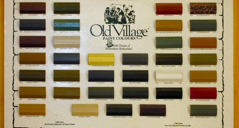 Primitive Paint Colors