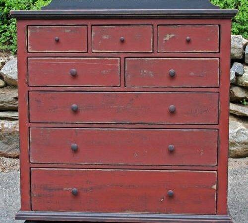 Primitives Primitive Country Furniture Painted