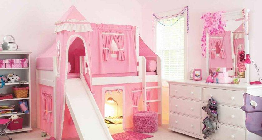 Princess Castle Beds Girls Feel Home