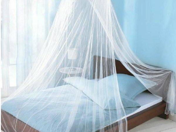 Princess Round Canopy Lace Curtain Dome Bed Netting