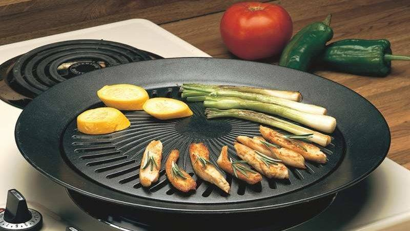Product Listing Smokeless Indoor Stovetop Barbeque