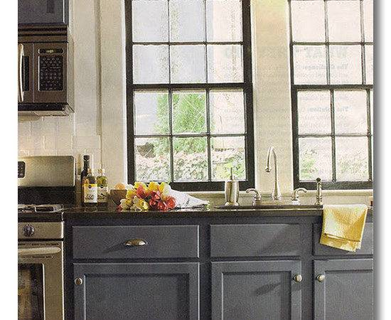 Project Library Dark Cabinets Fieldstone Hill Design