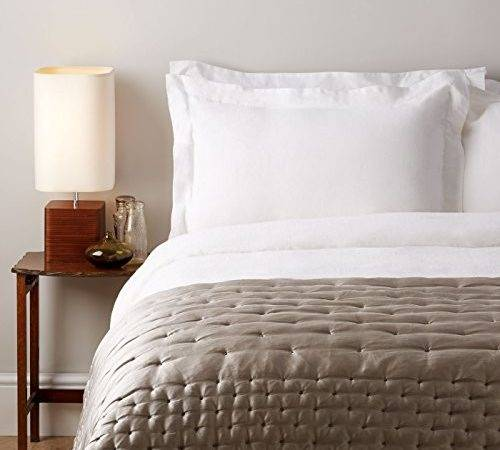 Pure French Linen Bed Duvet Cover Soak