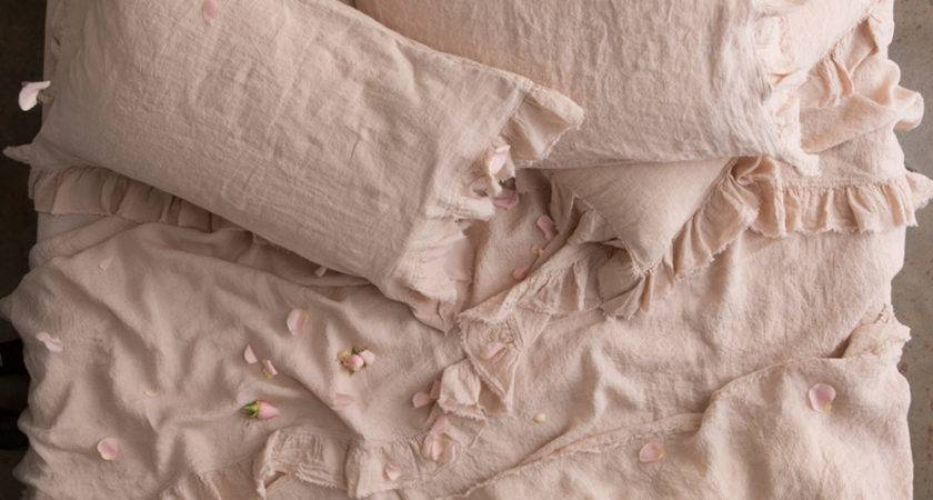 Pure Linen Bed Sheets Luxury Bedding