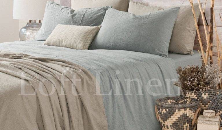 Pure Linen French Bed Quilt Cover Duvet