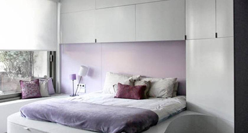 Purple Accent Wall Living Room Decosee