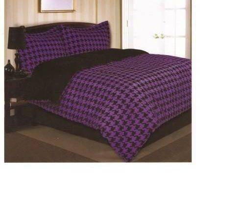 Purple Black Bedding Ebay