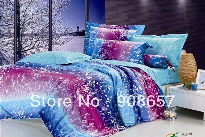Purple Blue Comforter Sets Photos Objects