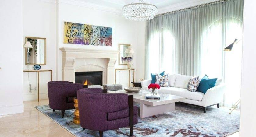 Purple Blue Living Room Decor Myfamilyliving