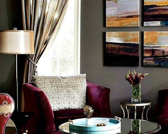 Purple Gold Room Inspiration Offition