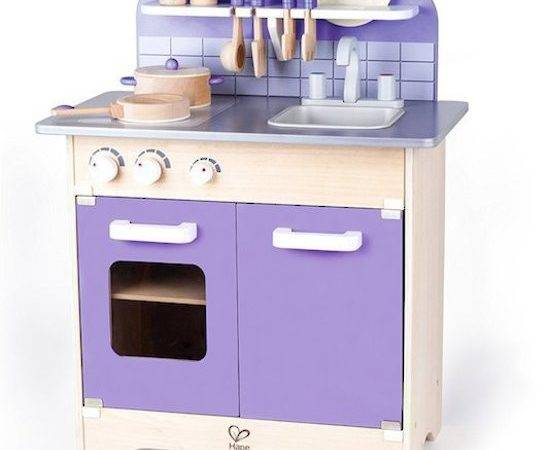 Purple Gourmet Kitchen Hape Buy Directtoys