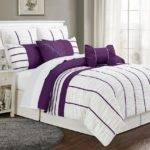 Purple Grey Bedding Sets Bed