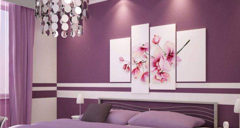 Purple Grey Bedrooms Brown Paint Colors