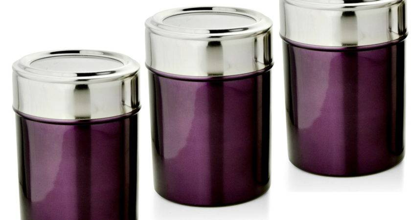 Purple Kitchen Canisters Best Home Design Idea