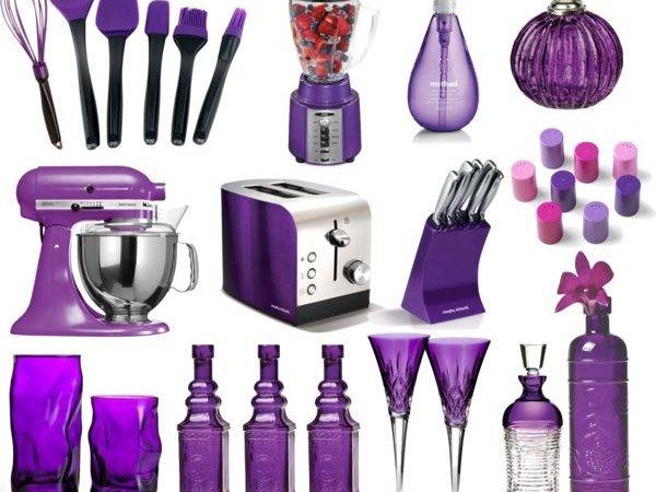 Purple Kitchen Polyvore
