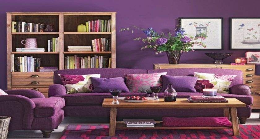 Purple Living Room Best Ideas Plum Rooms