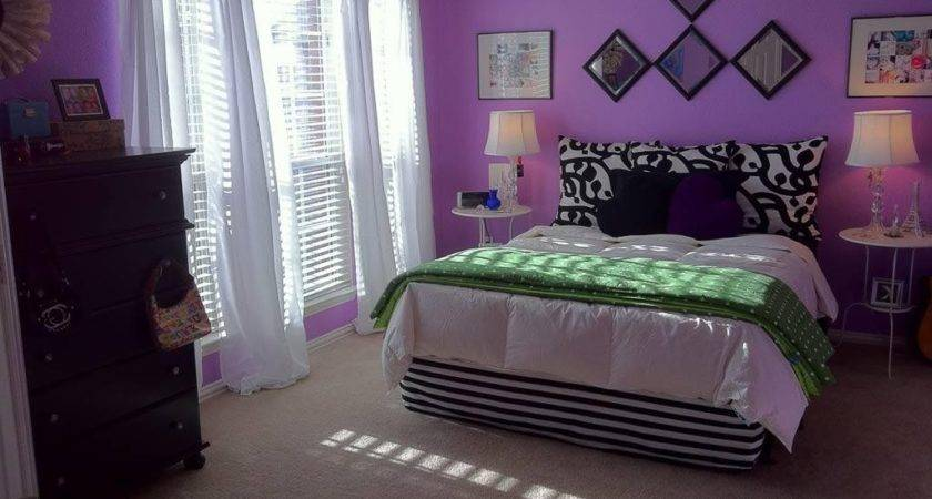 Purple Paint Colors Bedroom Walls Light