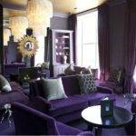 Purple Themed Living Room Round Table Ideas Home
