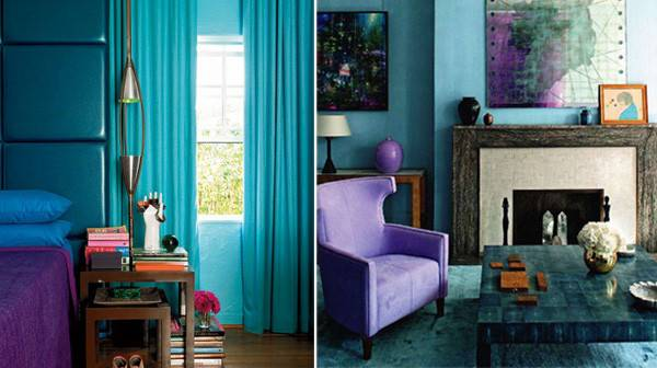 Purple Turquoise Bedroom Ideas Home Decorating