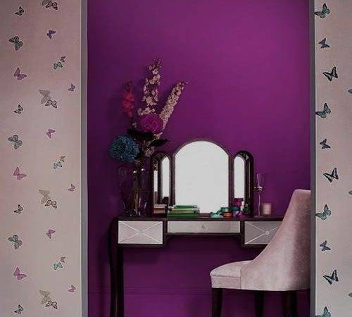 Purple Wall Paint Best Ideas Plum