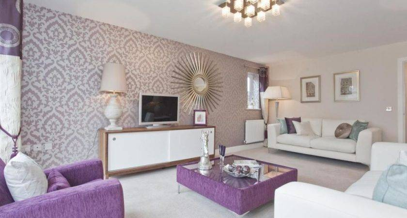 Purple White Design Ideas Photos Inspiration