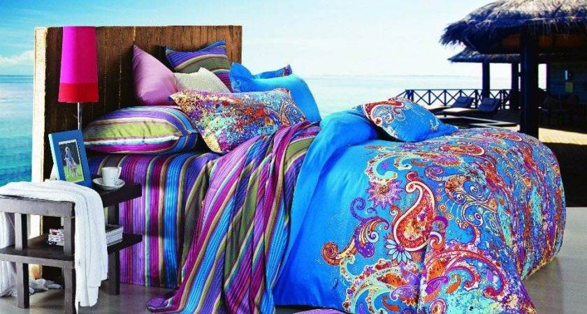 Queen Duvet Covers Bed Bag Gorgeous Multi Colored