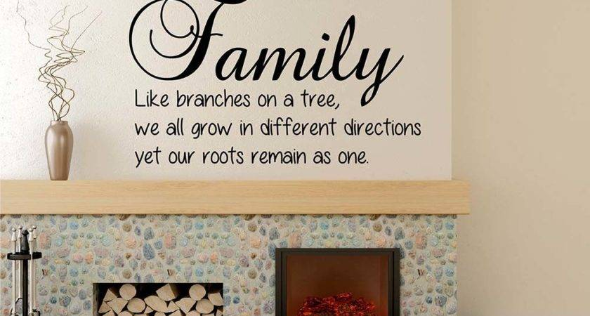Quotes Wall Decal Lettering Vinyl Art Stickers