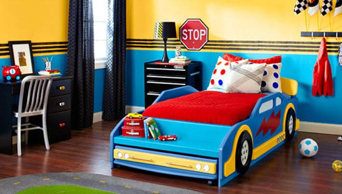 Race Car Bedroom Projects