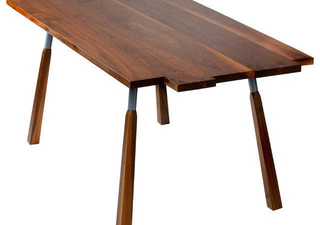 Raft Dining Table Eclectic Tables Other Metro