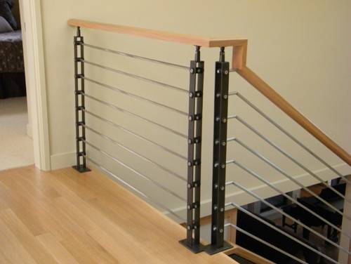Railing Contemporary Staircase Seattle