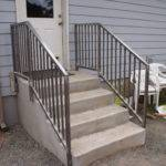 Railings Concrete Steps